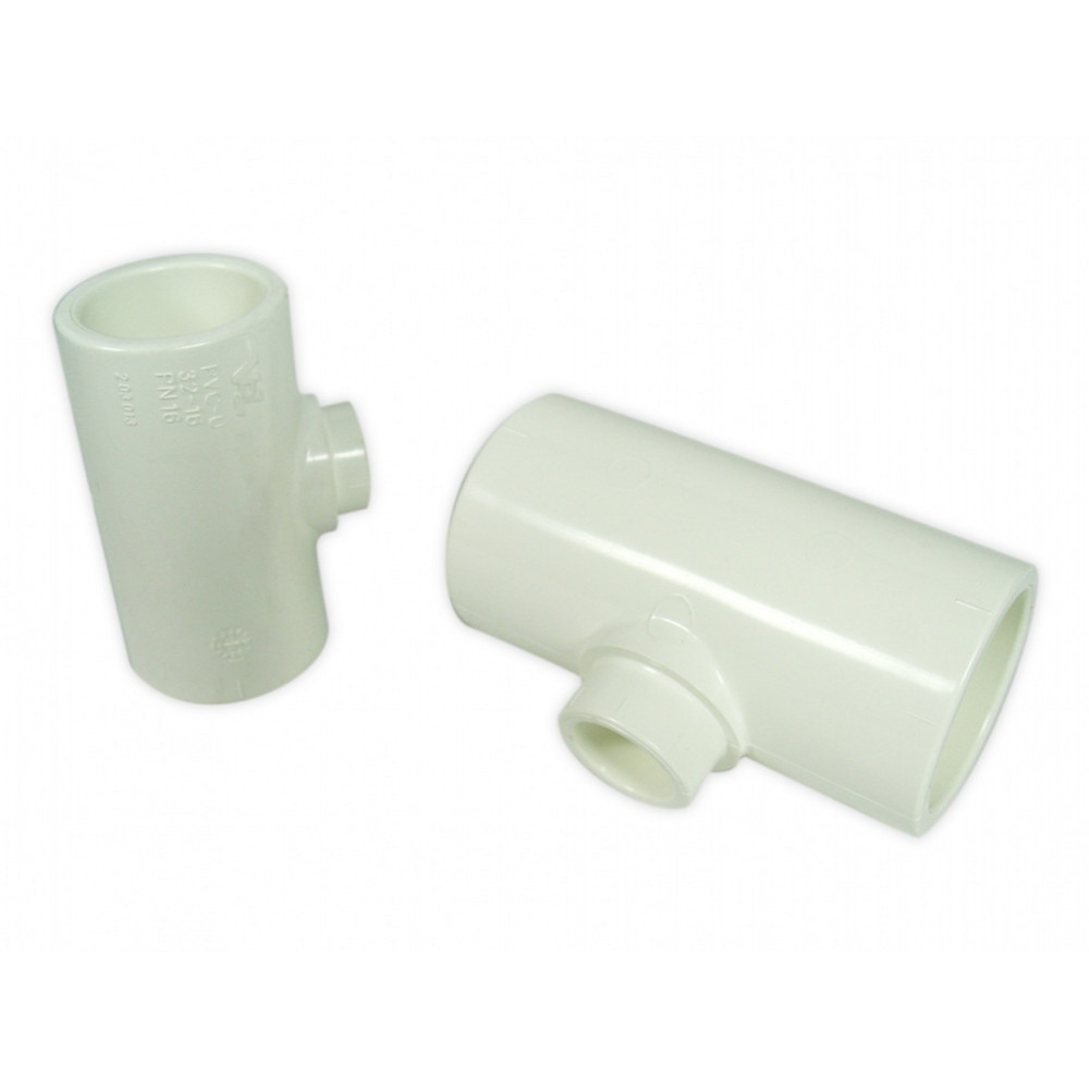 Royal Exclusiv PVC T-piece Ø 32 mm / 32mm / 16mm