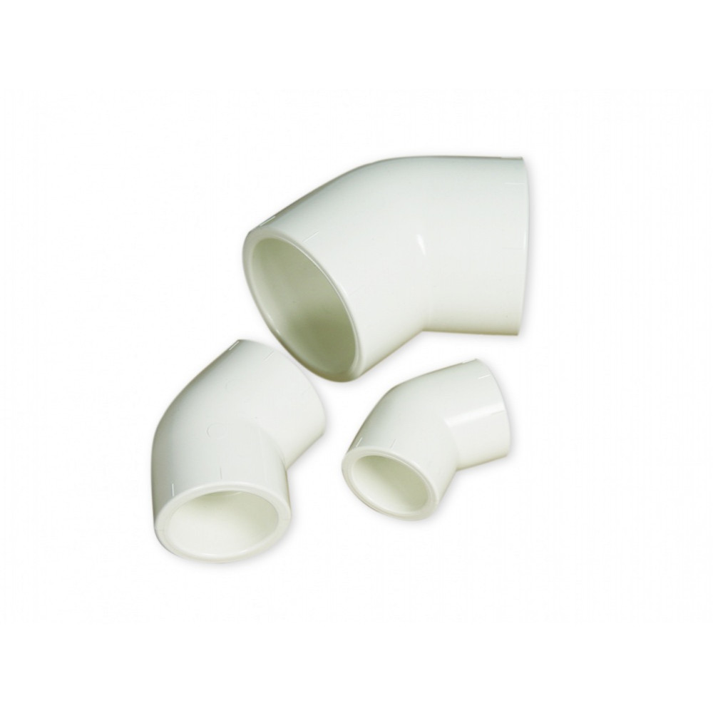 Royal Exclusiv PVC 45° elbow Ø 25 mm